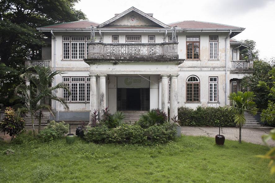 Goethe-Institut Myanmar - Historische Villa vor der Sanierung