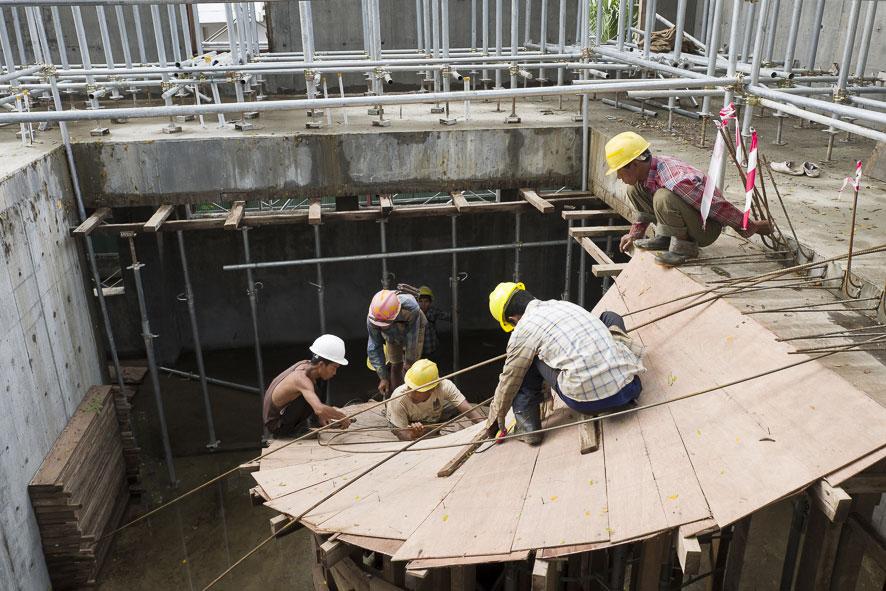 Goethe-Institut Myanmar - Neubau und Sanierung - Baustelle 3