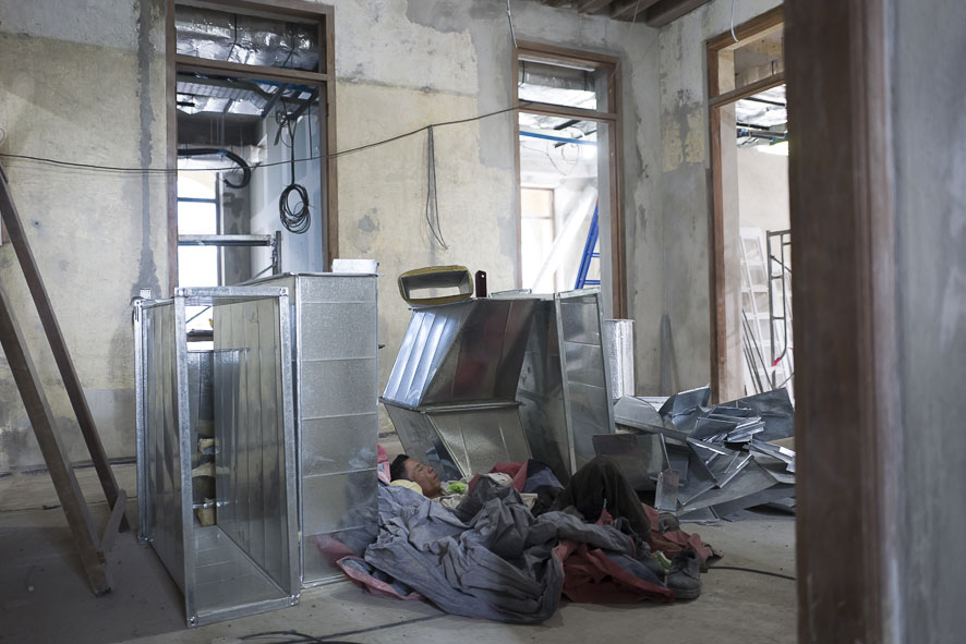 Goethe-Institut Myanmar - Neubau und Sanierung - Baustelle 1