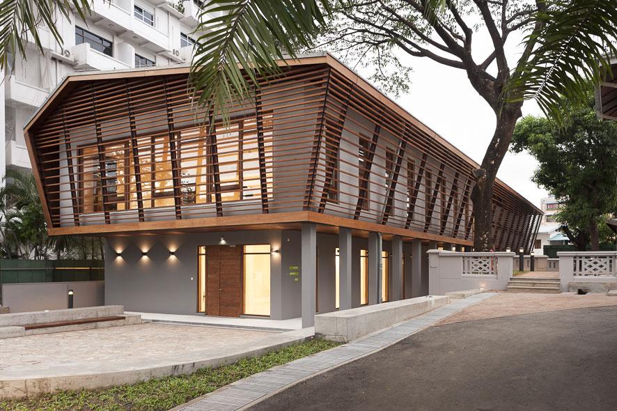 Goethe-Institut Myanmar - Neubau für Bibliothek und Auditorium