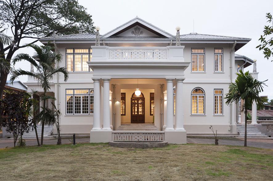 Goethe-Institut Myanmar - Sanierung und Wiedereröffnung der historischen Villa