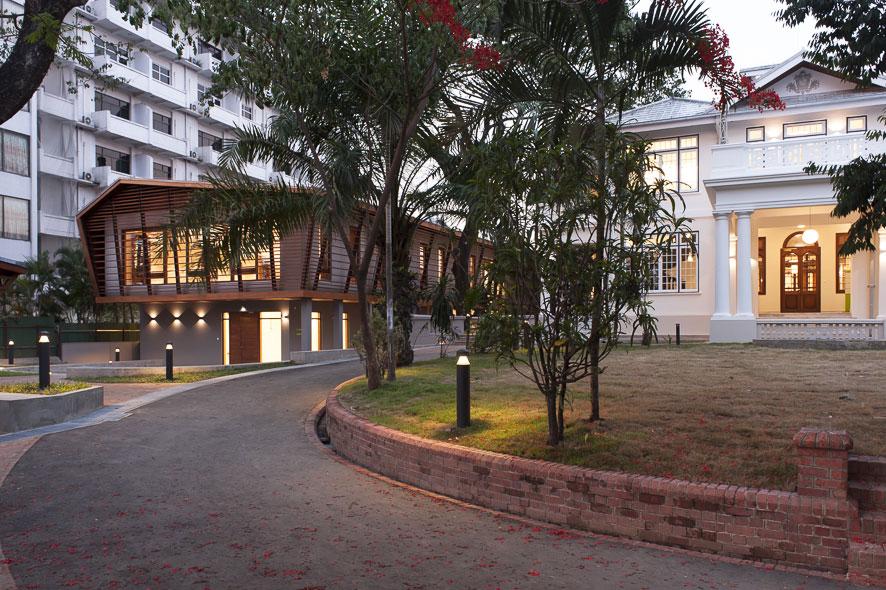 Goethe-Institut Myanmar - Sanierung, Neubau und Wiedereröffnung