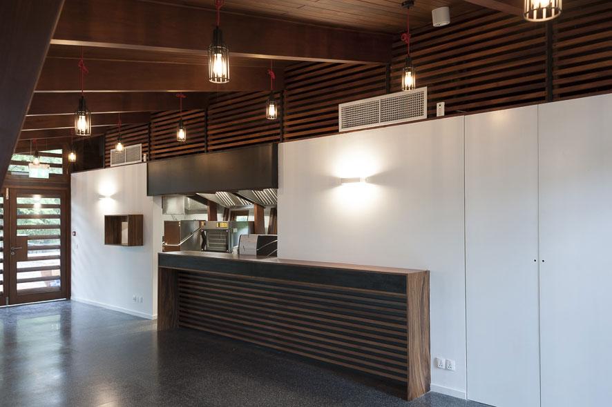 Goethe-Institut Myanmar - Die Cafeteria im Neubau